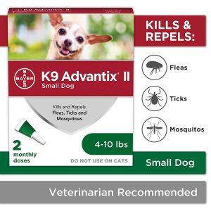 Bayer K9 Advantix II Small Dogs