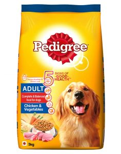 Pedigree Chicken and Vegetables
