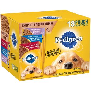 Pedigree Chopped Ground Dinner