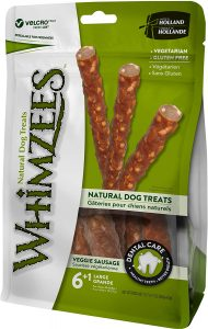 Whimzees Natural Veggie Sausage